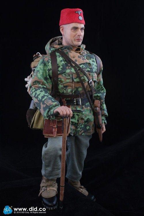 """DID】""""ヘルマン・ハンケ"""" ドイツ武装親衛隊 第13SS義勇山岳猟兵師団 ..."""