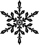TOP絵完成と雪結晶ブラシ配布  お絵描き練習日記
