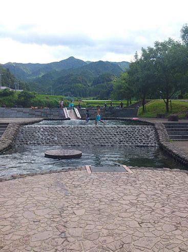 親水 公園 棚田
