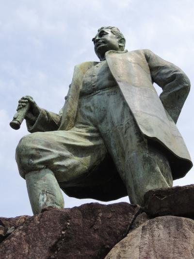 大久保諶之丞(おおくぼじんのじょう)像など(琴平町・三豊市 ...