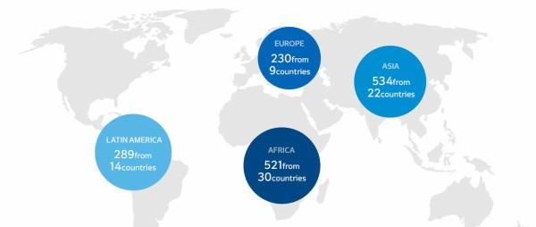 【画像】 平昌オリンピック公式HPの世界地図上に日本がないと話題に