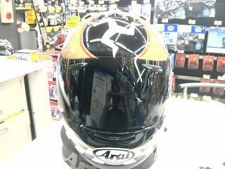 アライ ヘルメット 修理
