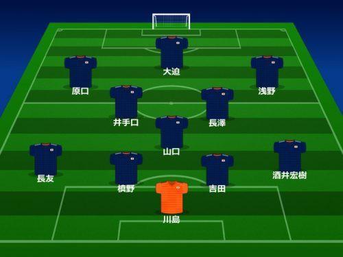 日本代表のスタメンが発表、主将・長谷部はベンチに、国際親善試合ベルギー戦