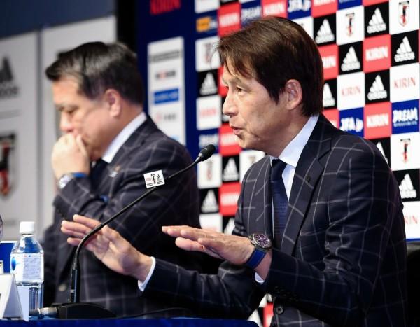 <西野朗監督>日本代表は「現状、バラバラ、崩壊しているとはまったく思っていません」