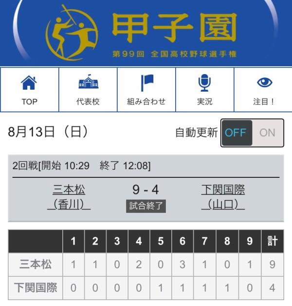 スパルタ監督の下関国際、公立の三本松高校に9-4で敗れる