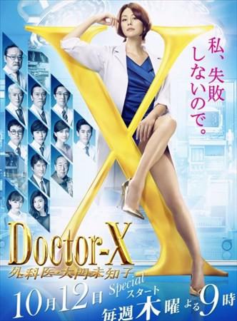 ドクターXの視聴率20.9%wwwwwww