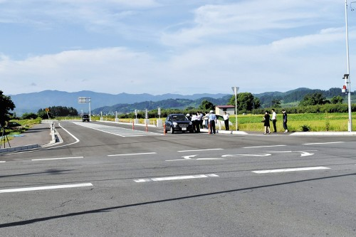 丁字路を十字路に変えたら…交差点で事故多発 青森