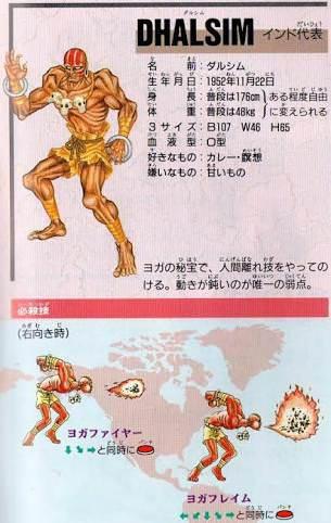 カプコン「インド代表の格闘キャラか……」