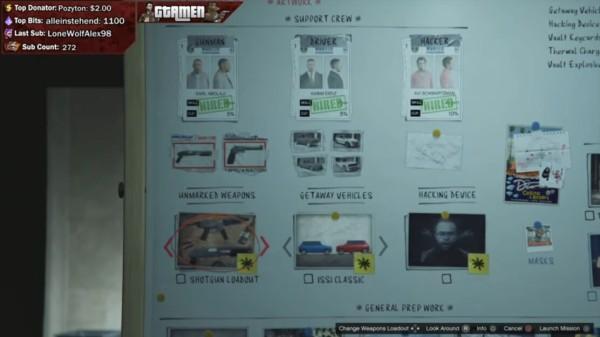 偵察 強盗 ダイヤモンド カジノ 【GTA5】カジノ強盗:偵察ボードの見方と使い方(初ホストの人限定) │