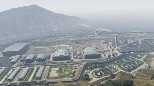 GTA5】戦闘機が置いてある「軍事基地」の場所と侵入方法 : グランド ...