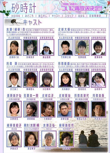 純愛@TBS愛の劇場「砂時計」 : 恵比寿/銀座大好き 新米フードアナ ...