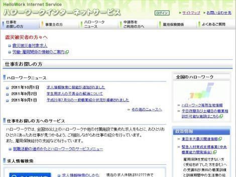 検索 ハローワーク インターネット