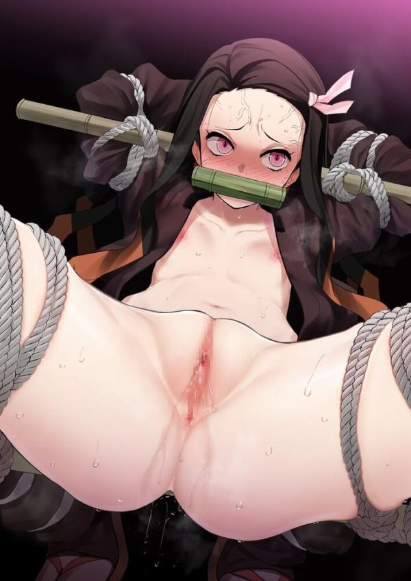 きめつのやいば女裸