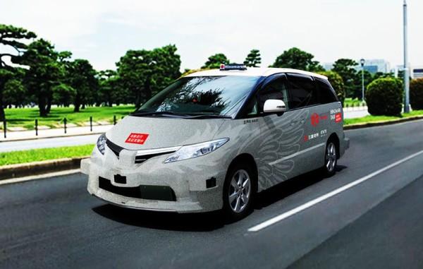 無人タクシー、2年後の実用化を目指し乗客を乗せた実験へ