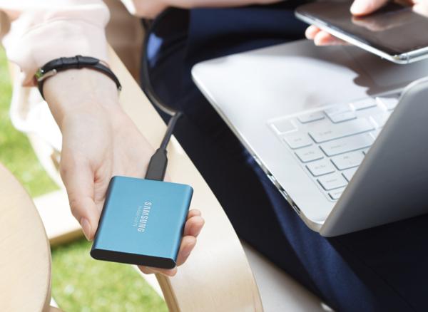 日本サムスン、MacBook ProにドンピシャなUSB Type-Cの爆速ポータブルSSD「T5」を発売へ