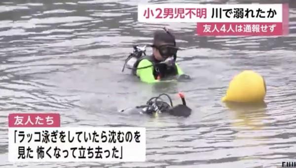 ラッコ 泳ぎ