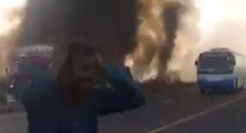 140人以上が死亡。タンクローリーが横転し炎上した事件で死者が出た理由が酷すぎる