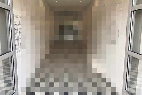 「廊下を走らないように」考えられた床のデザインが怖すぎる!こんなの絶対に走れないwwwww