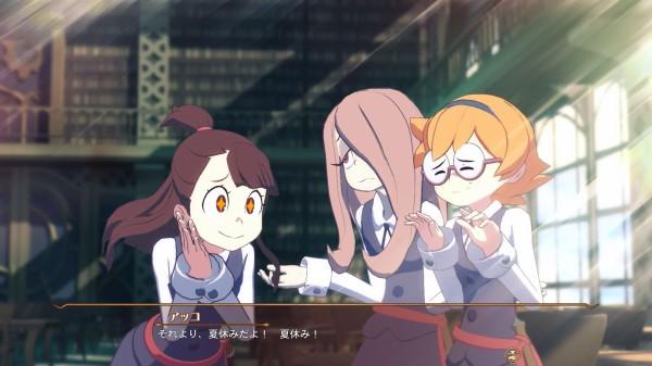 PS4用ゲーム『リトルウィッチアカデミア』発売日が11月30日に決定!!最新PVも公開!!