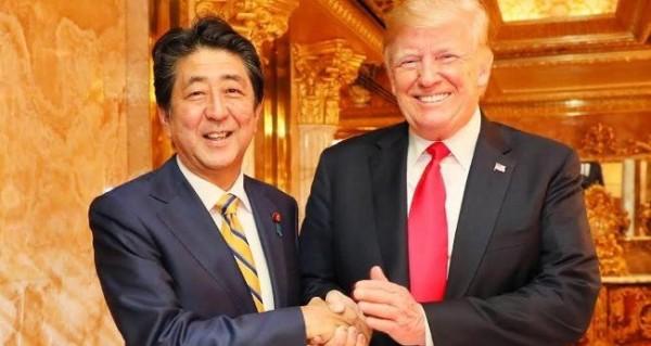 トランプ大統領「安倍首相からノーベル平和賞に推薦された」