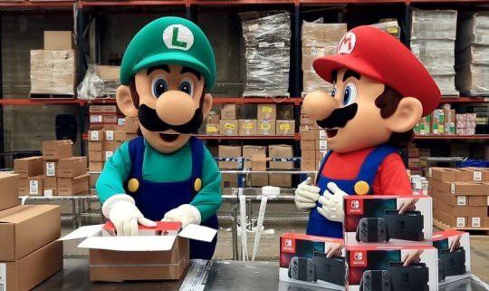 【朗報】任天堂、『ニンテンドースイッチ』を2018年3月末までに600万台を増産する模様!