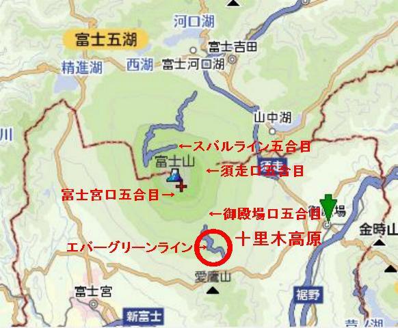 ____富士山頂距離
