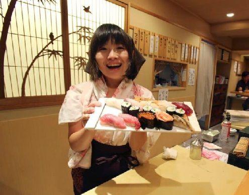なでしこ寿司」日本にある女性職人のみの本格寿司店(海外の反応