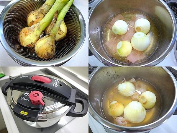 圧力鍋で「新玉とろ~り煮」(統合)