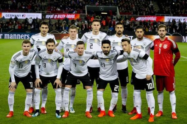 【悲報】FIFA王者ドイツさん、1位から15位へ急降下