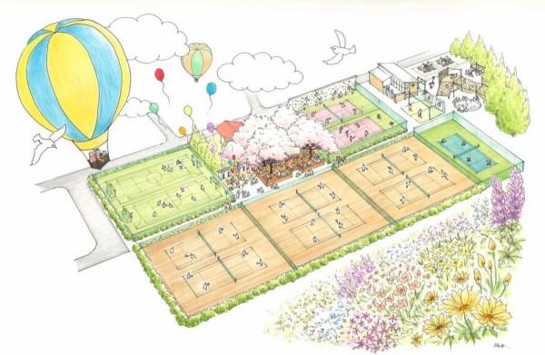 善福寺 公園 テニス クラブ