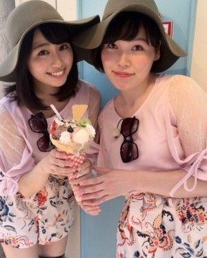 ももクロ 佐々木彩夏と尼神インター 誠子が双子コーデwww 画像あり