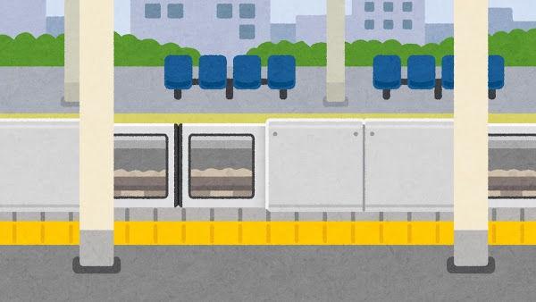 【やや読み辛い】通勤で使ってる路線は地下鉄が2本、途中で駅が分岐しててある日最初の直通が遅れて駅に到着したら、別の線の始発が待たずに発車してた