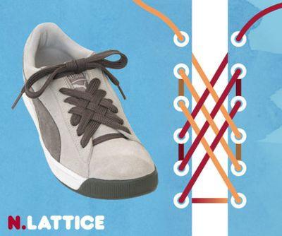 これはおしゃれ、15の靴ひもの結び方  らばQ