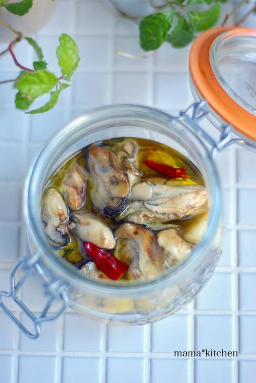 漬け レシピ オイル 牡蠣
