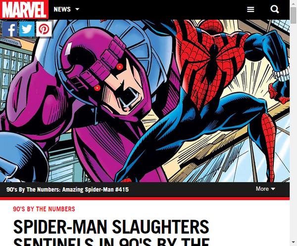 スパイダーマンはベン・ライリーとともに数で90年代を振り返る ...