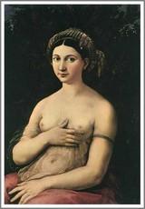 ラファエロ【若い婦人の肖像~ラ・フォルナリーナ~】 : (アート ...