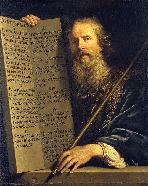 モーセのエジプト脱出と十戒の絵画12選。預言に従い、海を割いてユダヤ ...