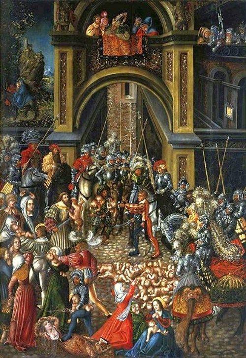 新約聖書の幼児虐殺の絵画14点。救世主の到来を恐れたヘロデ王は暴挙に ...