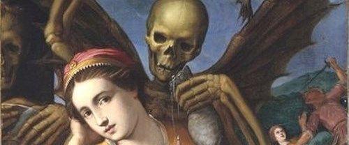 死と乙女の絵画10選。生と死は美と醜の対ともなり、美女でもいずれは朽ち果てる : メメント・モリ -西洋美術の謎と闇-
