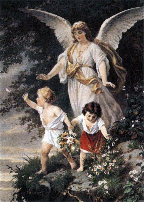 守護天使の絵画10選。一人を見守り正しき道へ導くとされる天使は、貴方 ...