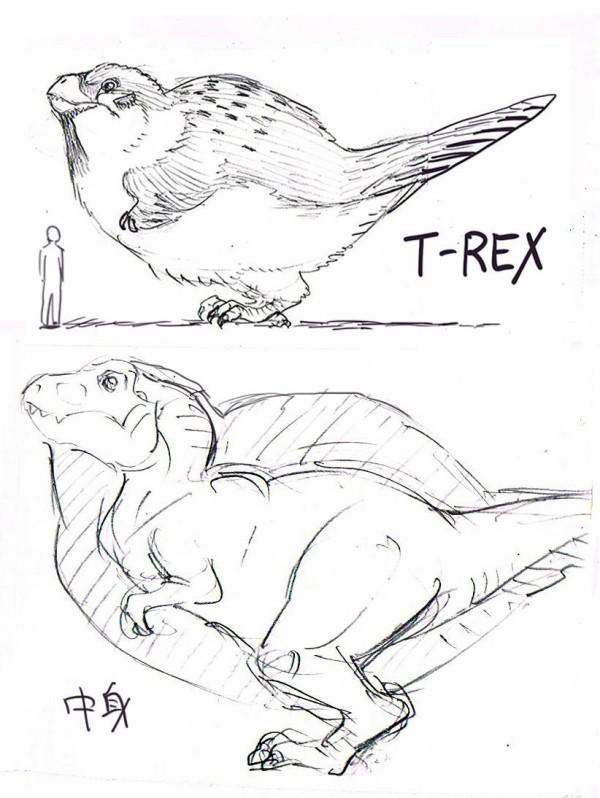 【悲報】ティラノサウルス、またまた過去の姿が変わってしまう