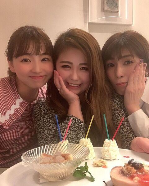 吉田沙保里さんの美女化が止まらない 化粧バッチリ「仲良し3人組」で ...