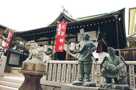 神社 三石