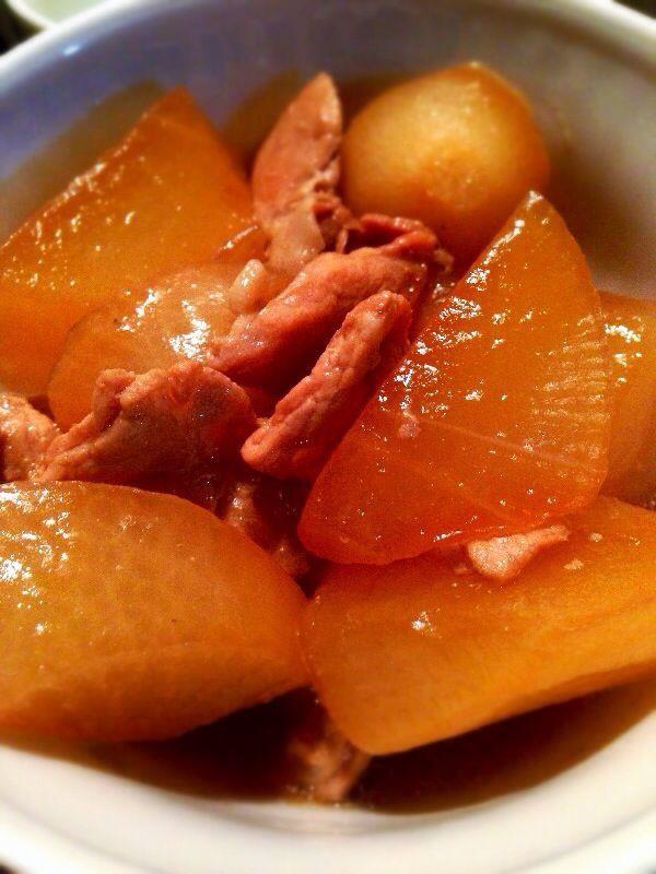 煮物 大根 の と 豚肉