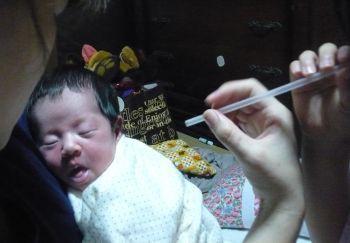 赤ちゃん 息 を 吹きかける