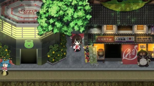 不思議の幻想郷3の建物とか描きました  猫ペンギンの巣