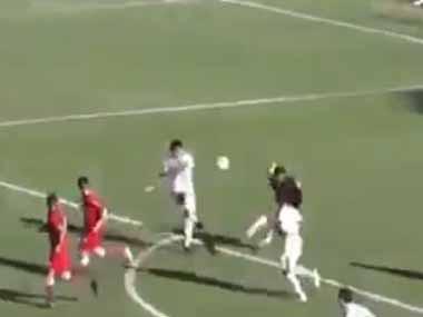【イヌ】 キーパーの蹴ったボールが、目の前の敵に奪われてゴールへ。あ~あ… → と思ったら…