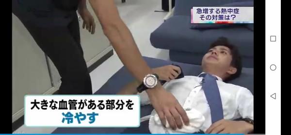【画像】NHKのアナウンサー、熱中症対策で取材したお医者さんに