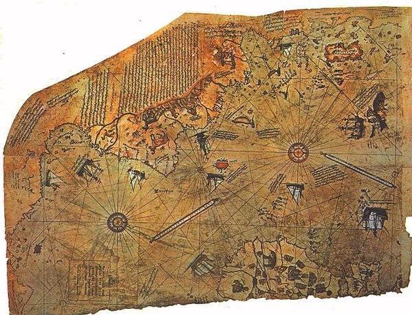 南極には太古の昔、超古代文明があった説、ピリ・レイスの地図は本物な ...