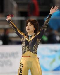 岡崎朋美選手と長島圭一郎(男子スピードスケート1000m)選手のパンツ ...